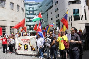 BBC VZ Protest