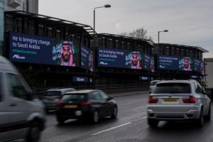 Billboards of Salman in London